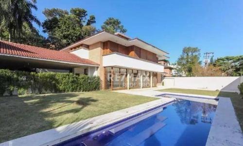 Casa Para Alugar, 650 M² Por R$ 50.000,00/mês - Alto Da Boa Vista - São Paulo/sp - Ca7100