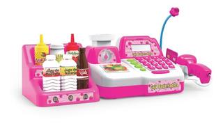 Caja Registradora Juliana Con Accesorios Y Microfono Full