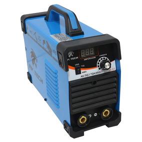 Máquina Inversora De Solda Tig 170a 110/220v Bivolt Com Disp