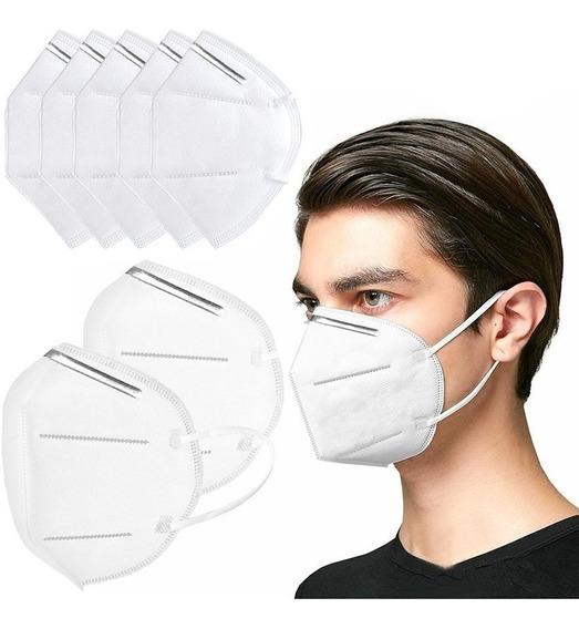 Set X 10 Mascarillas/respirador Kn95 Blanco
