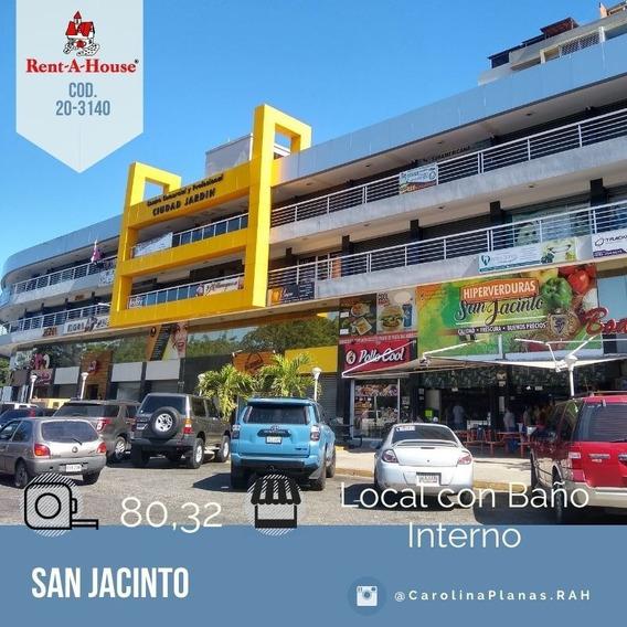 Local Comercial En Venta En Maracay, San Jacinto 20-3140 Scp