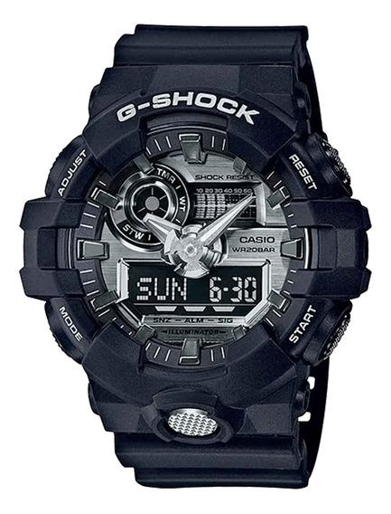 Relógio Casio Masculino Ga-710-1adr Preto - Refinado