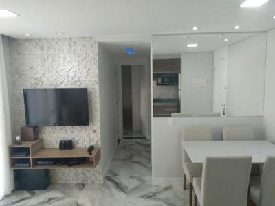 Apartamento Em Parque São Lucas, São Paulo/sp De 46m² 2 Quartos À Venda Por R$ 265.000,00 - Ap140053