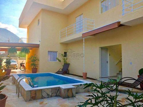 Casa Com 6 Suites, Piscina Na Praia Do Sape - Ubatuba - Cod 546 - V546
