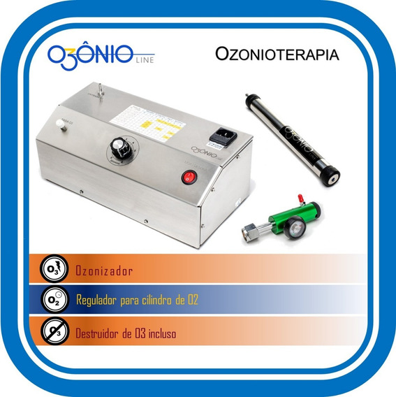 Gerador Para Ozonioterapia Com Anvisa - Ozônio Line