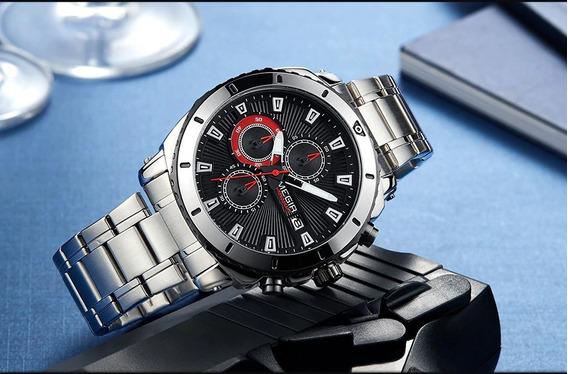 Relógio Megir 2075 Preto