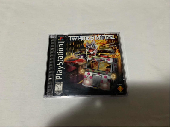 Twisted Metal Ps1 Original Americano