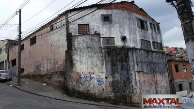 Galpão De Esquina, Com Pé Direito Duplo, Mezanino, 2 Wcs, Cozinha, Etc - Mi68361