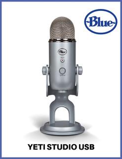 Micrófono Blue Yeti Studio Usb