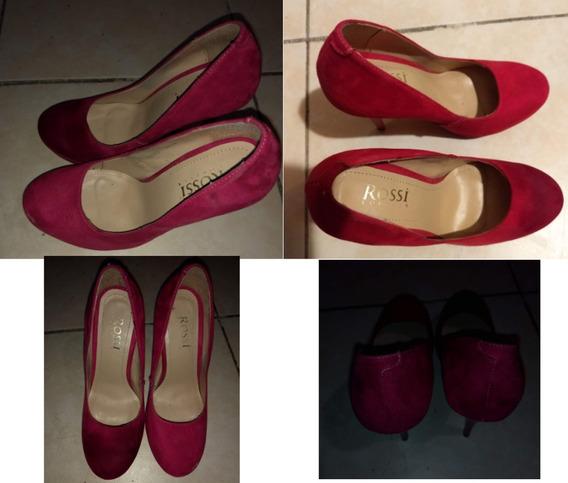 Lote De 7 Piezas De Zapatos Botas Sandalias Guaraches Mujer