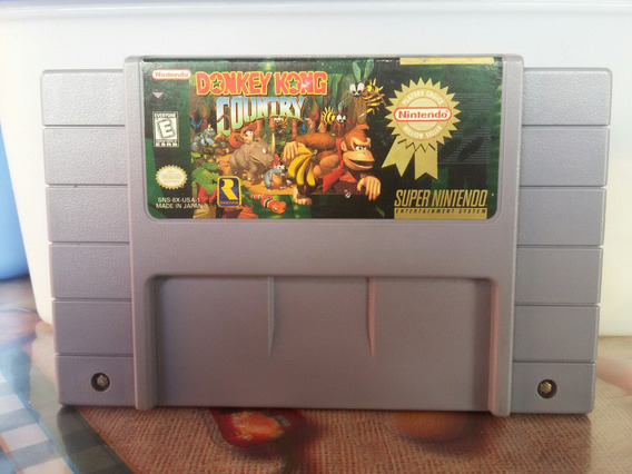 Donkey Kong Country 1 Original - Edição Million Seller