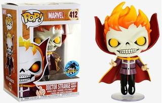 Funko Pop! - Marvel - Doctor Strange (ghost Rider) #412