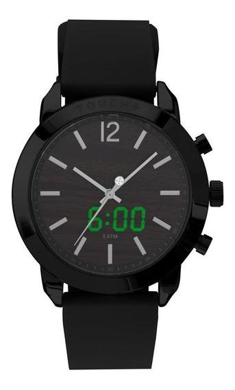 Relógio Touch Unissex Preto Twy121e6ai/4p