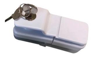 Fechadura Quadrada Para Envidraçamento De Sacada 8mm V/v