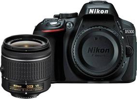 Nikon D5300 24.2mp - Wifi - Lente Af-p 18-55mm Vr