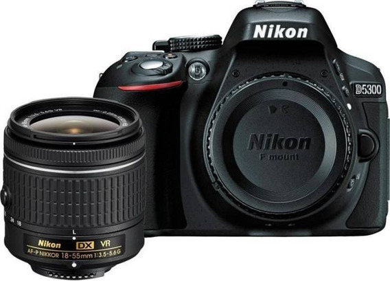Nikon D5300 24.2mp, Lente Af-p 18-55mm Vr Nota Fiscal