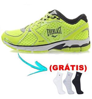 Sapato Tênis Everlast Mirage Verde - ( Grátis Meia )