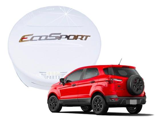 Kit Ecosport 2013 A 2020 Capa Estepe E Frisos Branco Artico