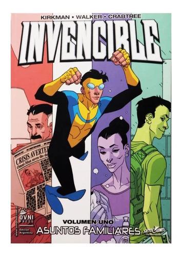 Invencible Vol. 1 Asuntos Familiares - Editorial Ovni Press
