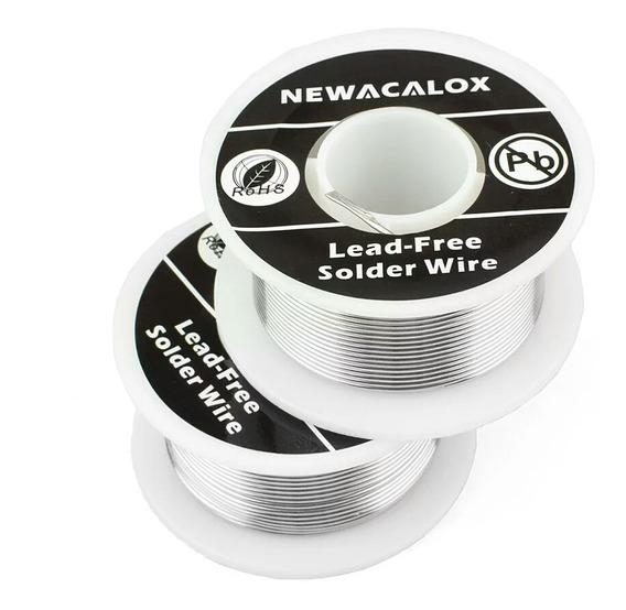 Newacalox 1 Pçs/1mm Novo Estanho De Solda.