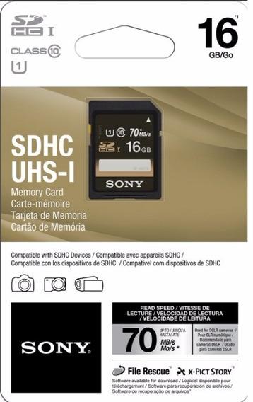 Cartão De Memória 16gb Sdhc Sony Sf16uy2/tq