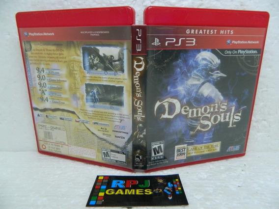 Demons Souls Original Midia Fisica Completa P/ Ps3