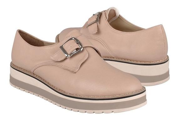 Zapatos Casuales Para Dama Stylo 2910 Simipiel Beige