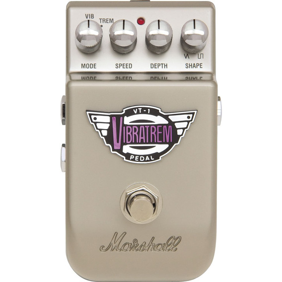 Pedal Para Guitarra Vibrato Tremolo Vt1 Vibratrem Marshall