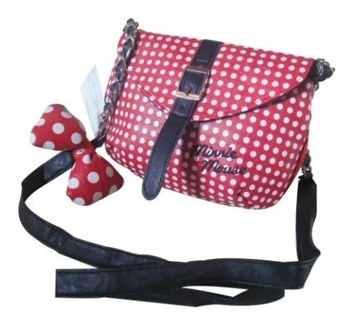 Bolsa Minnie Fita Disney 100% Original E Importada