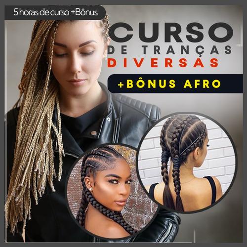 Curso{profissional} De Tranças Diversas - Bônus Afro