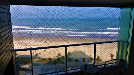 Apto - Frente Mar - Churrasqueira - Temporada - Praia Grande