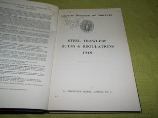 Steel Trawlers Rules & Regulations-lloyd