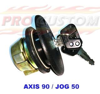 Tapa Tanque Yamaha Axis90 Jog50 Y Tambor Llave Contacto