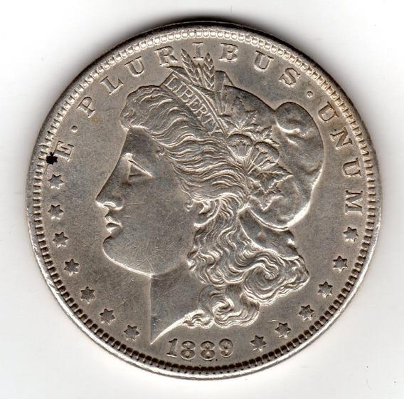 Bkz / Estados Unidos - Morgan Dollar 1889 Plata
