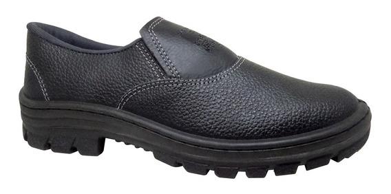 Sapato Segurança Sem Bico De Aço Cartom 016 Elástico - Epi