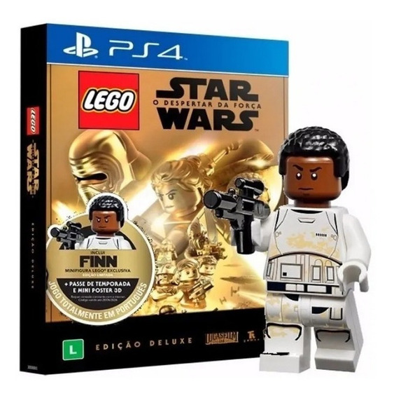Jogo Lego Star Wars O Despertar Edição Deluxe Ps4 Lacrado