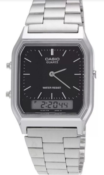Relogio Casio Unissex Retrô Analógico-digital Aq-230a