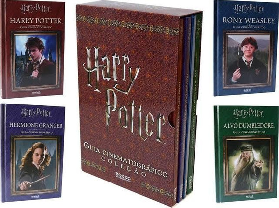 Livro - Box Harry Potter - Guia Cinematografico - Colecao
