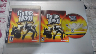 Guitar Hero World Tour Completo Play Station 3