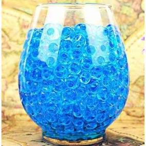 Bolinha Gel Festa Planta Cresce Água Orbeez 1000 Bol Azul