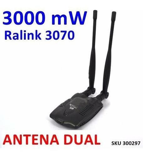 Antena Dual Wifi Amplifica Rompemuro Adaptador Rlink3070 W01