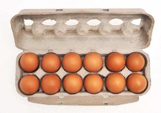 50 Cajitas Nuevas Para 12 Huevos