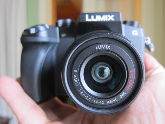 Panasonic Lumix G7 4k+lente 14-42 Completa Bhphoto Em Sp