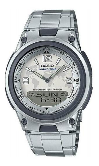 Relógio Casio Masculino Anadigi Aw-80d-7a2vdf