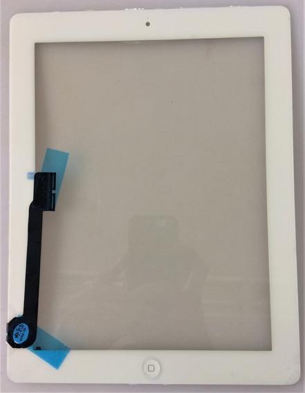 Tela De Vidro Touch iPad 2 A1396 Botão Home C/nf