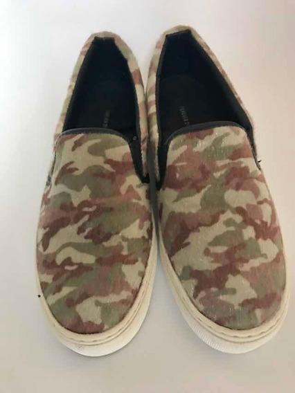 Zapatillas De Piel F21 N 38 Como Nuevas 1 Uso Importadas