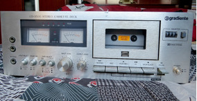 Tape Deck Gradiente Cd3500 Toca Fitas K7