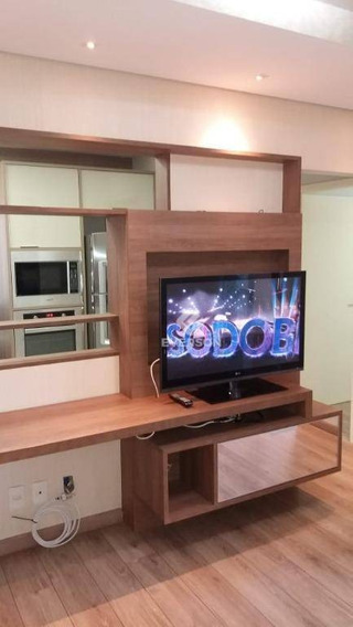 Apartamento Vila Do Horto Com 2 Dormitórios Para Alugar, 48 M² Por R$ 1.099/mês - Jardim Do Horto - Rio Claro/sp - Ap0480
