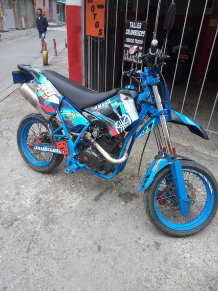 Um Smf 125 Azul