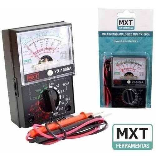 Mini Multímetro Analógico Mxt Yx1000a